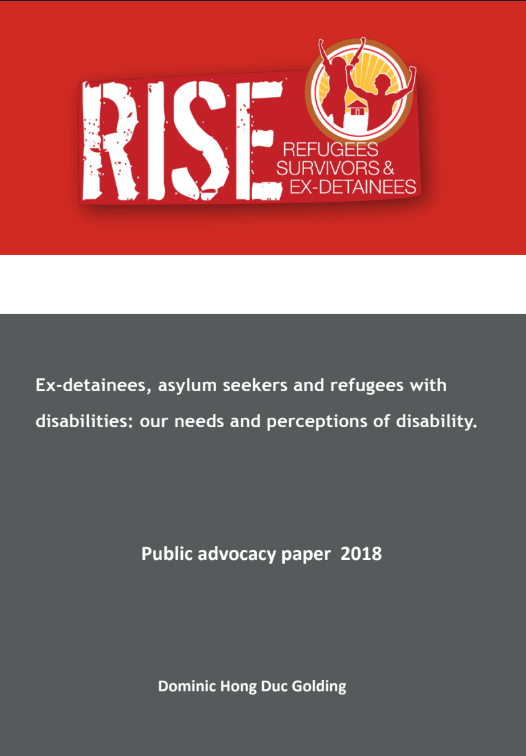 Cover of Report by Dominic Golding