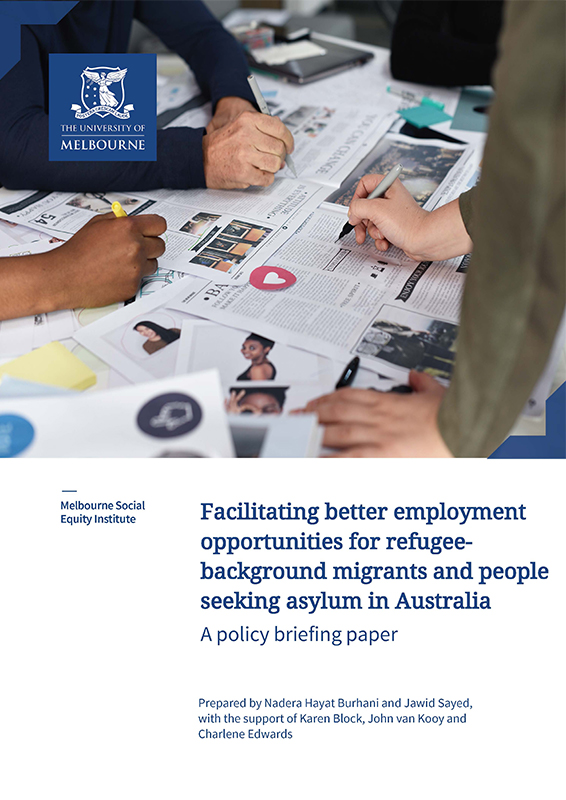 Facilitating better employment opportunities for refugee- background