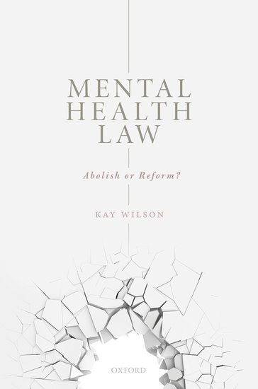 Book cover for Mental Health Law by Kay Wilson