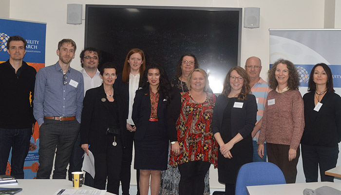 Group photo of Unfitness to Plead researchers and disability support workers